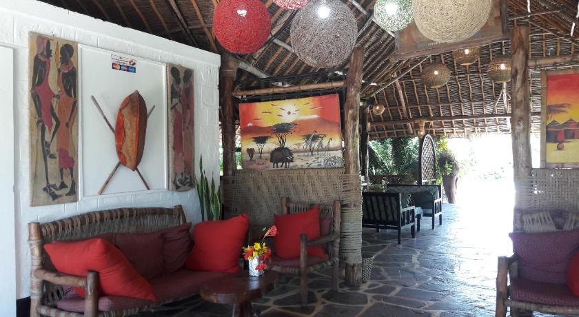 Lobby African Dream Cottages - Diani Beach