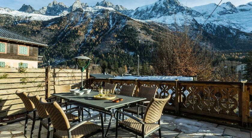 Balcony/terrace Chalet Aigle Royal