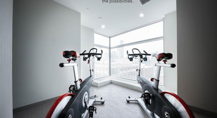 Fitness center Synterra Suites