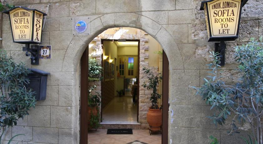 Sofia Pension 27, Aristofanous str. & Symonοidou str., Old Town Rodos