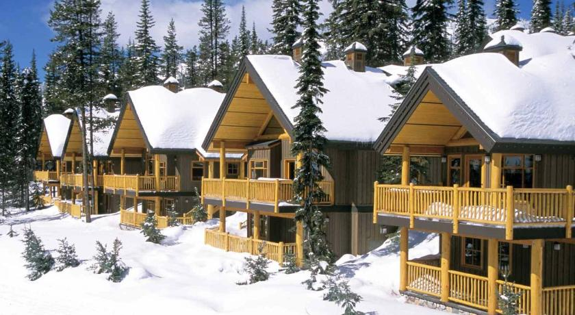 Two-Bedroom Cabin  - Surrounding environment Big White Ski Resort - Vacation Homes
