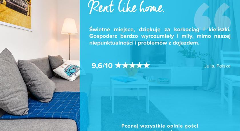 Apartment with Balcony Rent like home - Apartament Żelazna