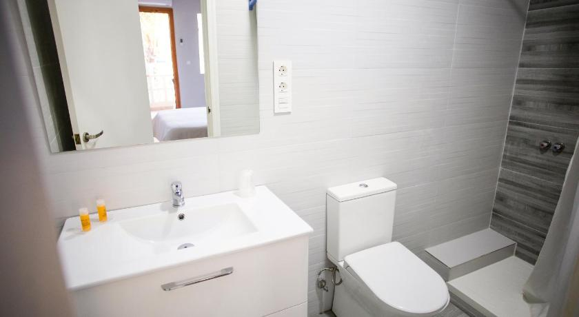Double or Twin Room - Shower Hostal Alba