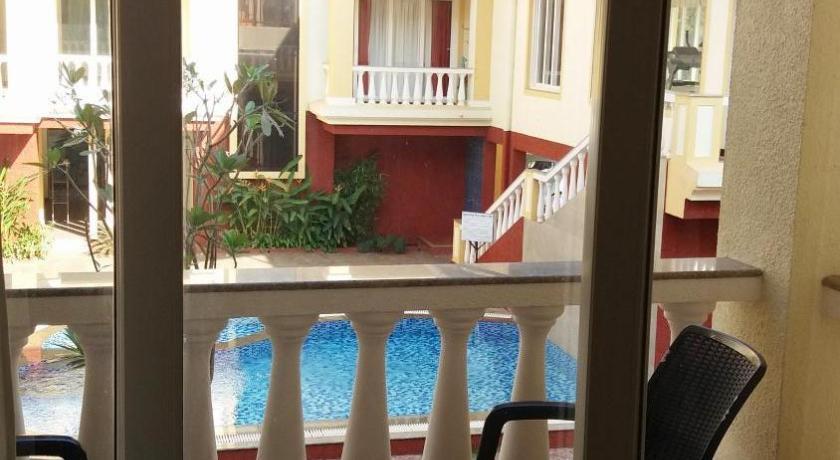 Balcony/terrace Bu0026F Amber Gardens