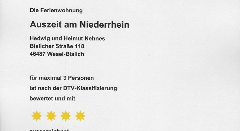 Auszeit am Niederrhein - Wesel | Bedandbreakfast.eu