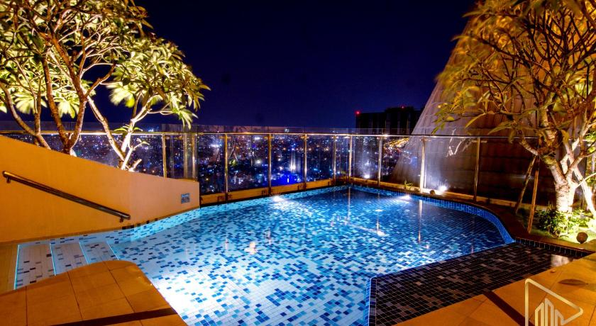 Swimming pool Cozy Thien Apartment Icon 56