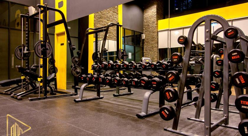 Fitness center Cozy Thien Apartment Icon 56