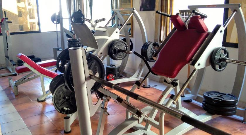 Fitness center Real lux appartment
