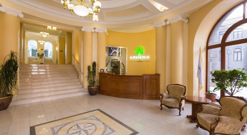 Lobby Armenia Wellness & Spa Hotel Jermuk