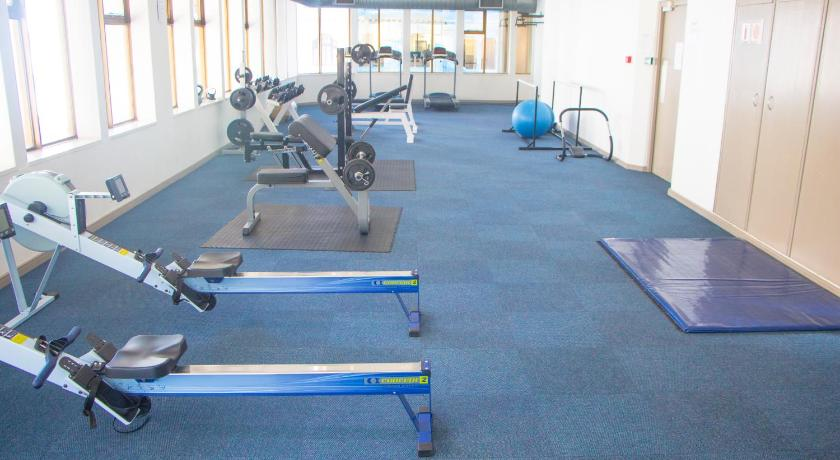 fitness centrum ITC - Cartwrights CNR 1 Bed Apartments