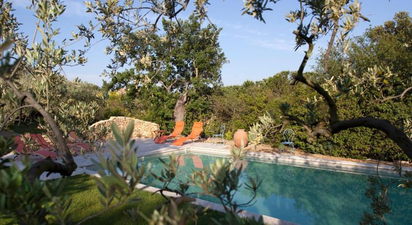Swimmingpool Amour Provence cottage