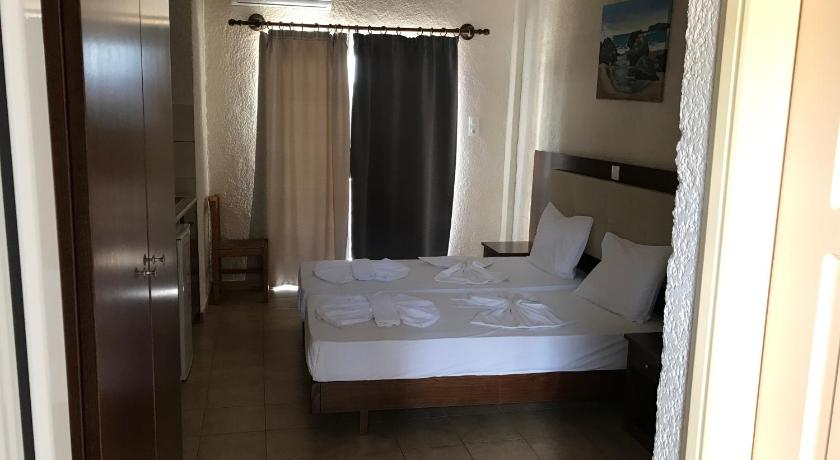 Twin Room with Sea View Falassarna Beach Studios & Apartments