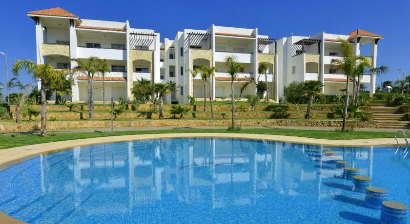 مسبح Asilah Marina Golf Apartment