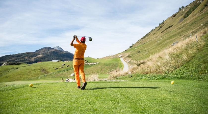 Camp de golf (a l'establiment) Andermatt Swiss Alps Resort