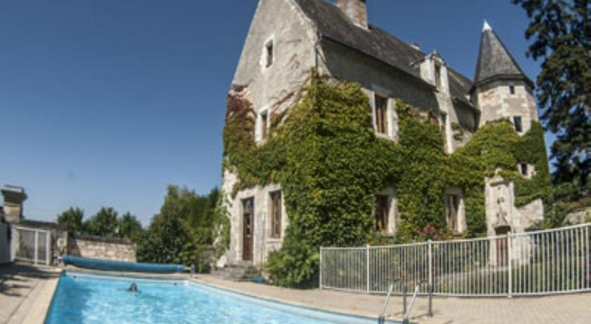 Swimming pool Manoir de l'Abbaye
