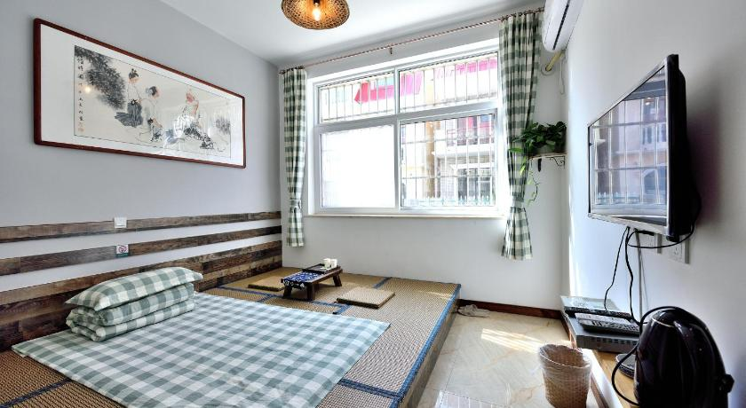 Single Room with Private Bathroom Beidaihe Chenjuzhenyuan Tang Style Inn