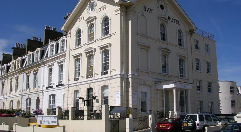 Entrance The Bay Hotel Teignmouth