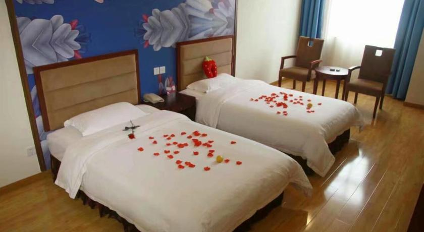 Deluxe twin rom Trip Stage Inn Dujiangyan