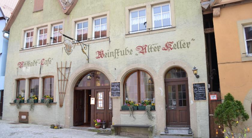 best price on restaurant alter keller in rothenburg ob der tauber reviews. Black Bedroom Furniture Sets. Home Design Ideas