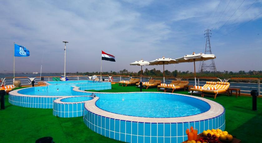 Piscina M/S Nile Goddess Cruise - Luxor- Aswan - 04 & 07 nights Each Monday