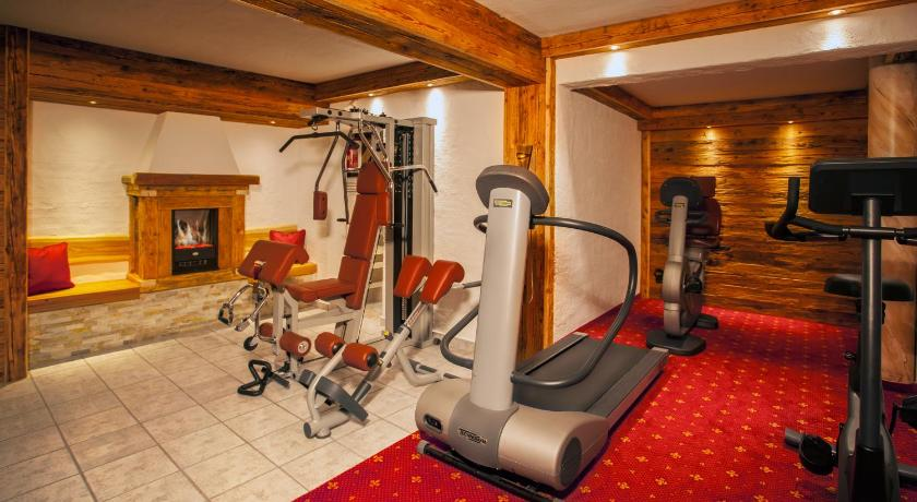 fitness centrum Hotel-Pension Egger