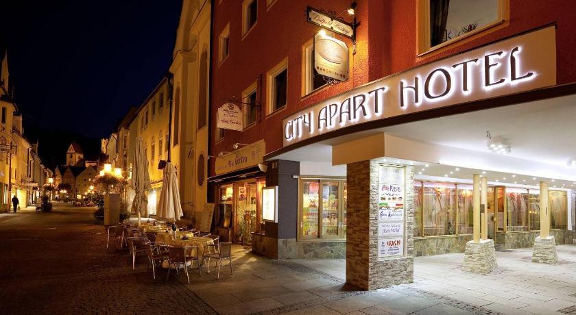 City Apart Hotel Füssen Reichenstrasse 33 Füssen