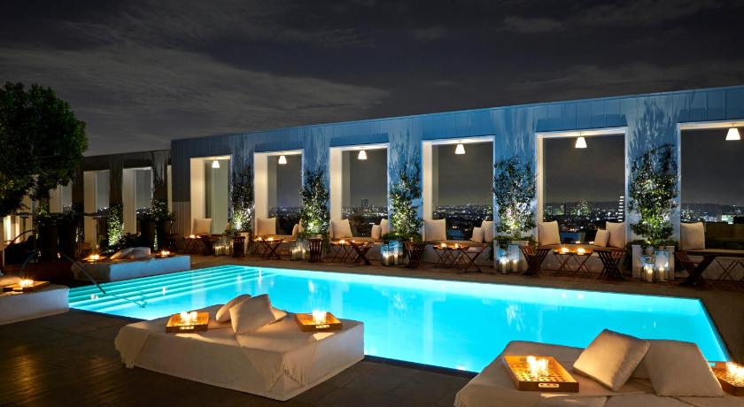 Best Time To Travel United States Mondrian Los Angeles In West Hollywood