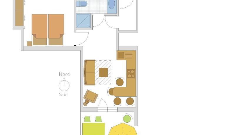 Apartament amb Vista sobre la Muntanya (2 Adults) Appartementhaus Linter