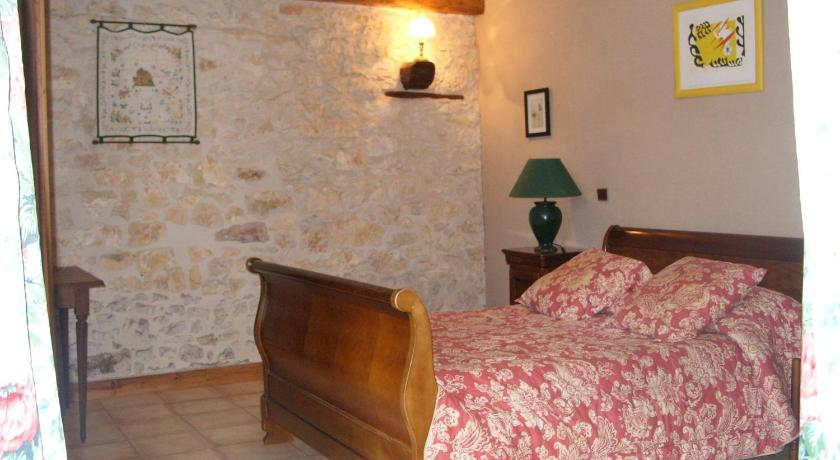 Double Room - Bed Moulin de La Garrigue