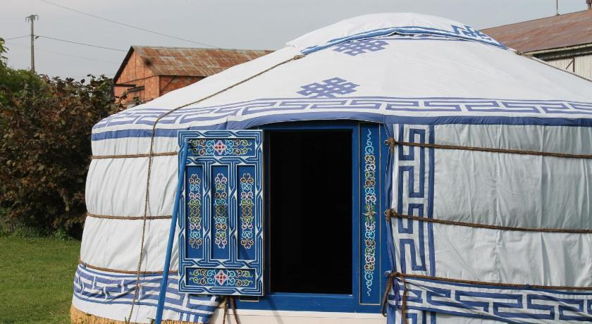 Blue Yurt - Habitació Les Yourtes Bourcominoises