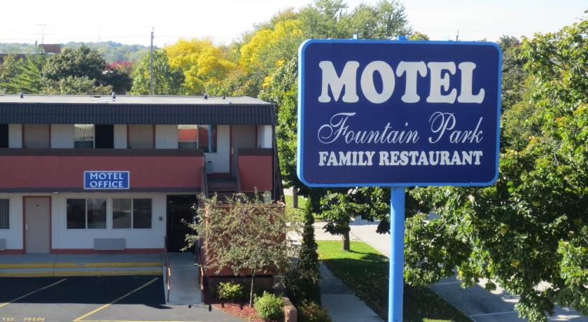 Vchod Fountain Park Motel