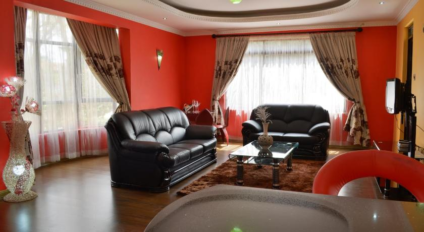 Empfangshalle Fahari Palace Serviced Apartments