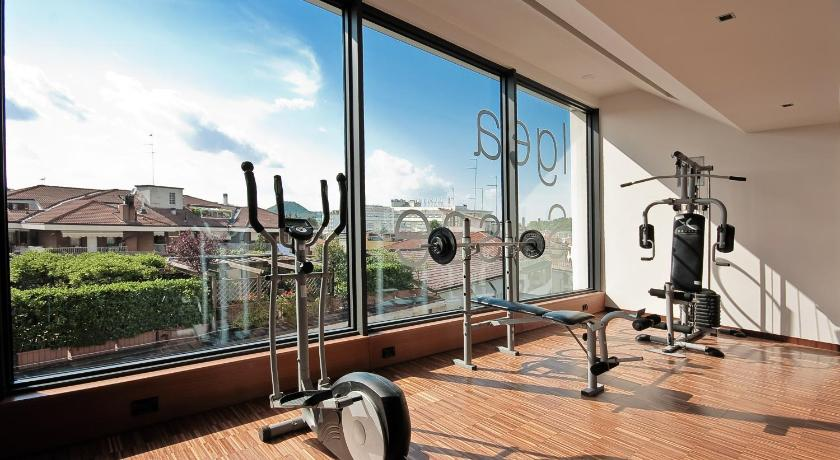 Fitness center Hotel Terme Igea Suisse