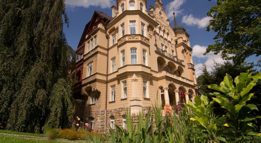 Apartmány Villa Liberty Krále Jiřího 10 Karlovy Vary