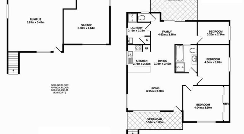 Floor plans The Seaside Beachhouse Mollymook