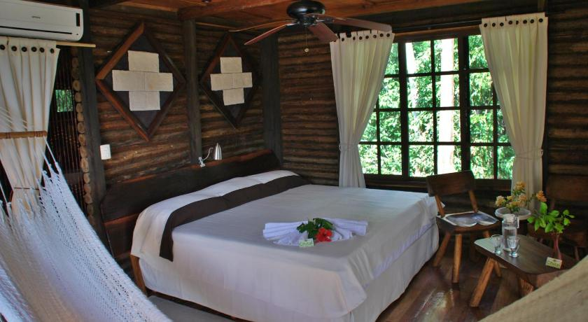 Double Room - Bed Hotel de Cabañas Ecologicas El Chital