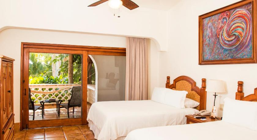 Double Room with Partial Sea View - Bed Cabo Surf Hotel