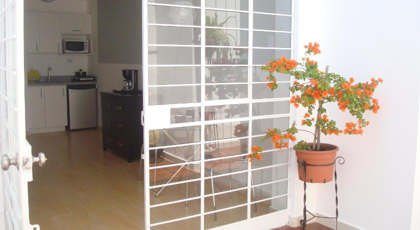 balcon/terrasse Studio Apartment in Miraflores