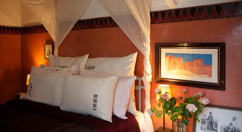 Terrasse Double Room - Bed Riad El Arsat & Spa