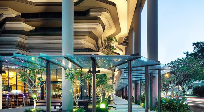 Parkroyal on pickering 3 upper pickering street singapore for Design hotel singapore