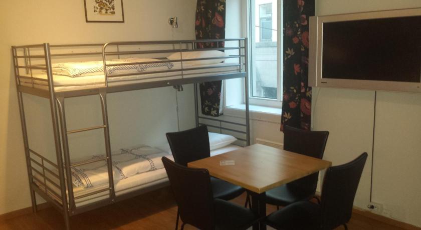 Self-service Piano Hostel Kong Oscars gate 48 Bergen