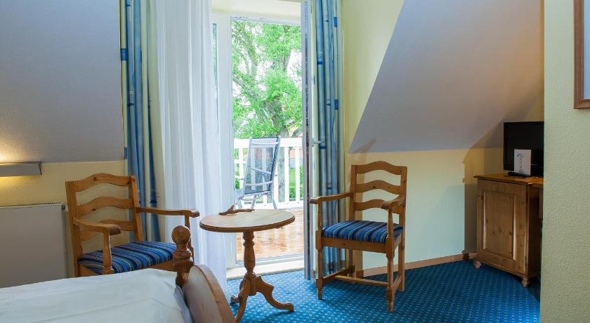 Double Room with Street View - Guestroom Haus am Meer