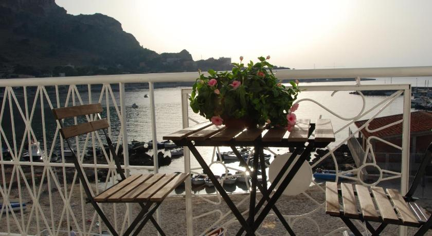 altan/terrasse Barcarello Bed and Breakfast