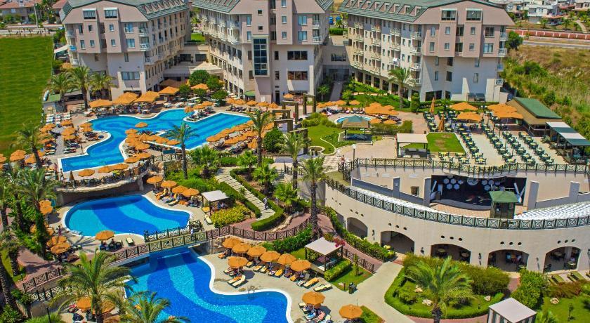 Das novum garden side hotel in manavgat buchen for Katzennetz balkon mit novum garden hotel
