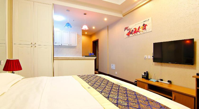 Queen Room with City View Weihai Tujia Sweetome Vacation Rentals Dijing Bay Hotel