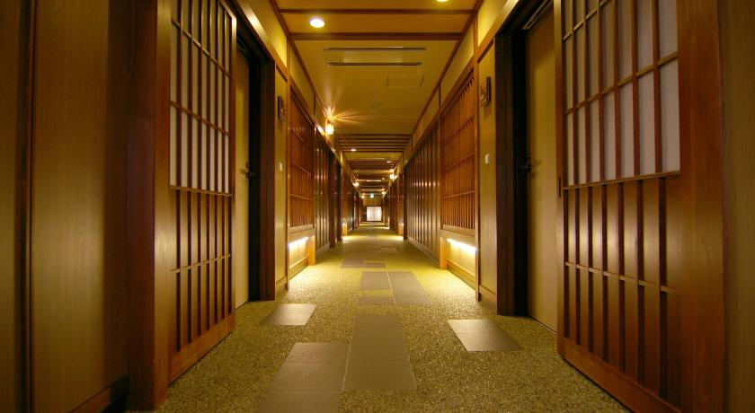Deluxe Room with Tatami Area with Open-Air Bath Takinoyu Hotel