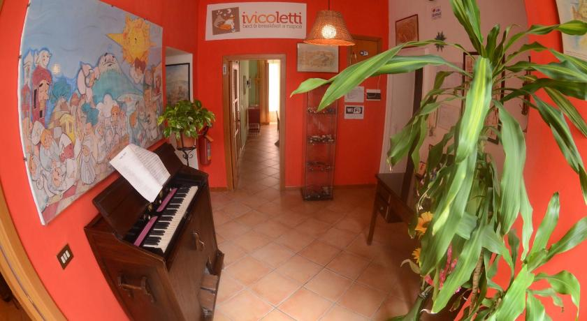 Lobby Bed and Breakfast I Vicoletti Di Napoli