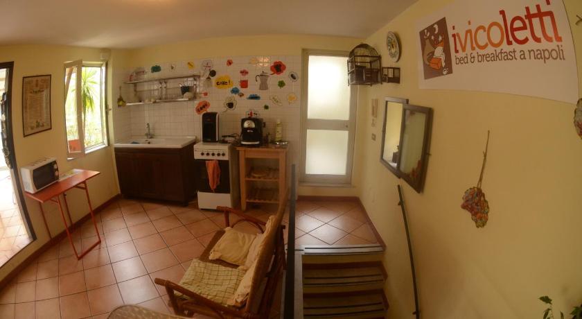 Bed and Breakfast I Vicoletti Di Napoli Via San Domenico Soriano 46 Neapel