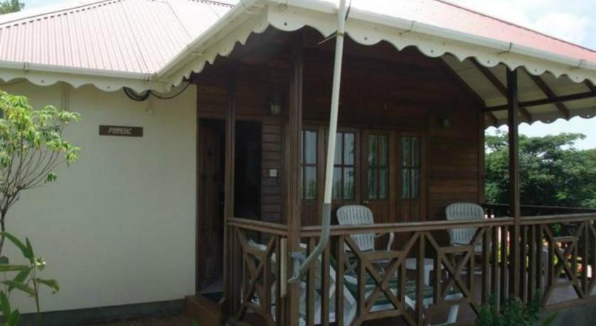 балкон/тераса Exotica Cottages