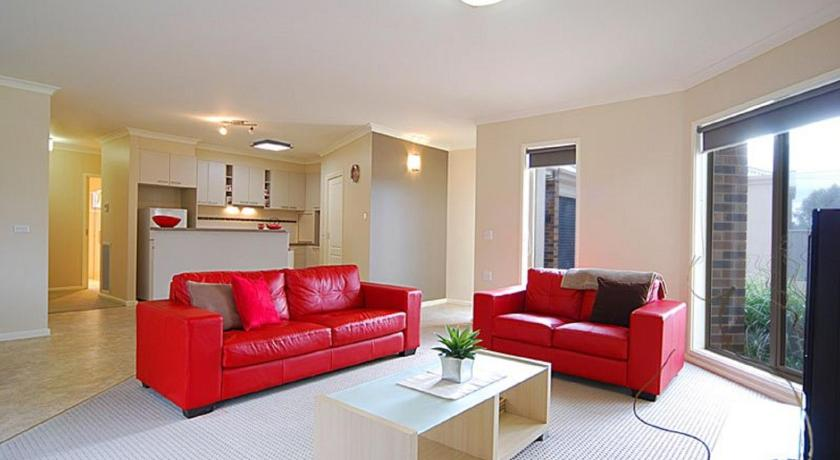 Separate living room Allingham Complex Serviced Apartments - Disabled Friendly